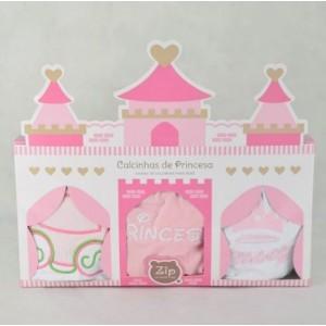 Kit Calcinha Princesa
