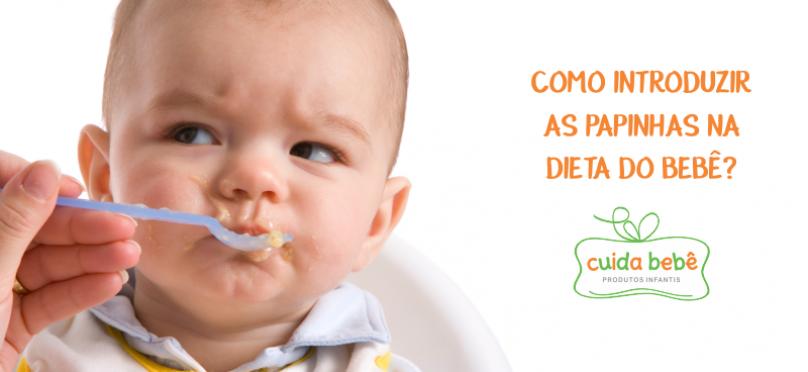 Como introduzir as papinhas na dieta do bebê?