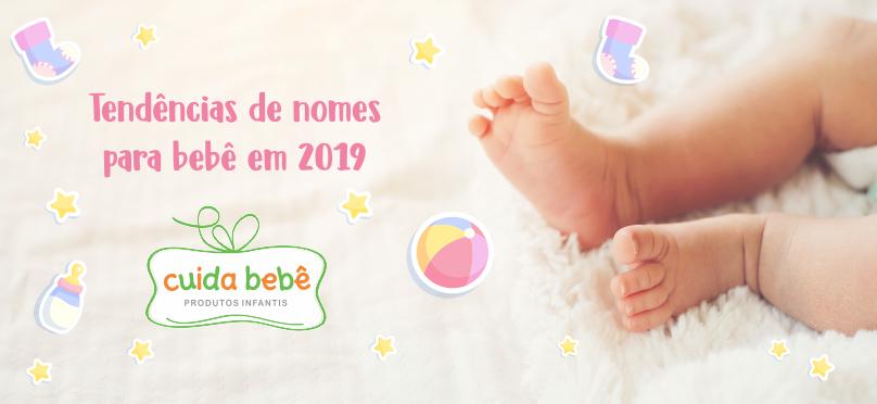 Tendências de nomes para bebê em 2019