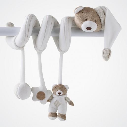 Móbile Espiral de Atividades Urso Nino